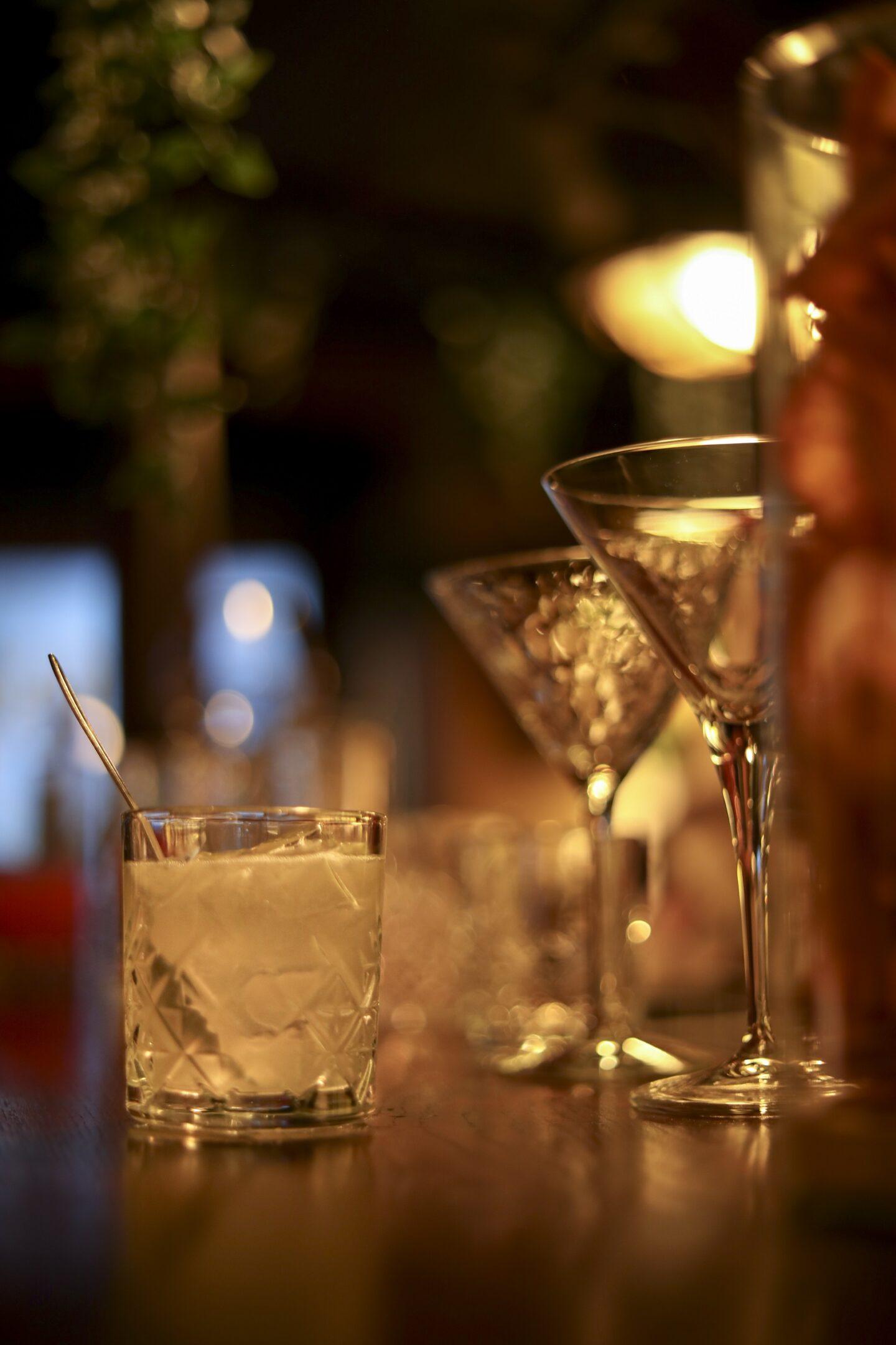 Cocktail «Gatsby» à La Pirogue de Versailles